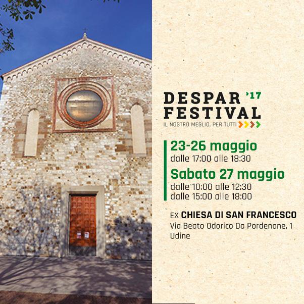 Le Buone Abitudini a Udine per il Despar Festival