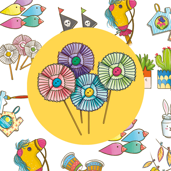 Un mazzolin di fiori… di carta!