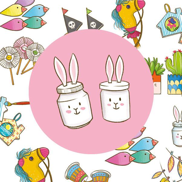 Simpatici coniglietti per la tua tavola!