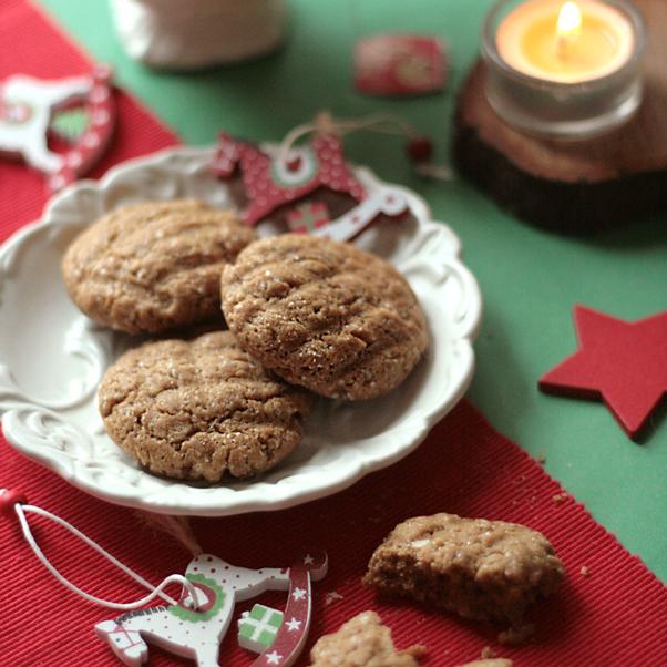 Croccanti biscotti al caffè d'orzo