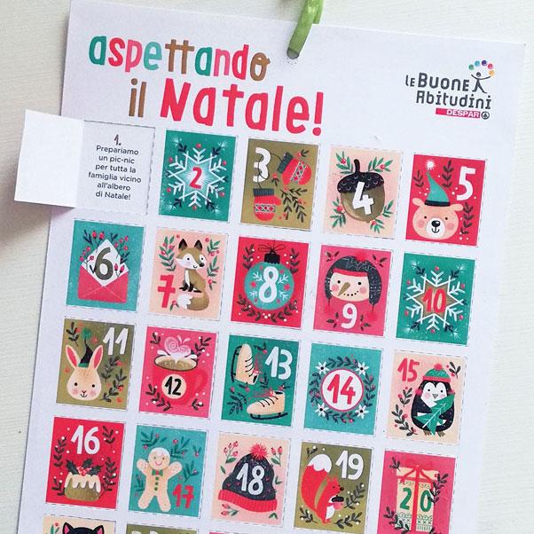 Aspettando il Natale: il calendario delle buone azioni!