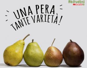 Una pera, tante varietà!