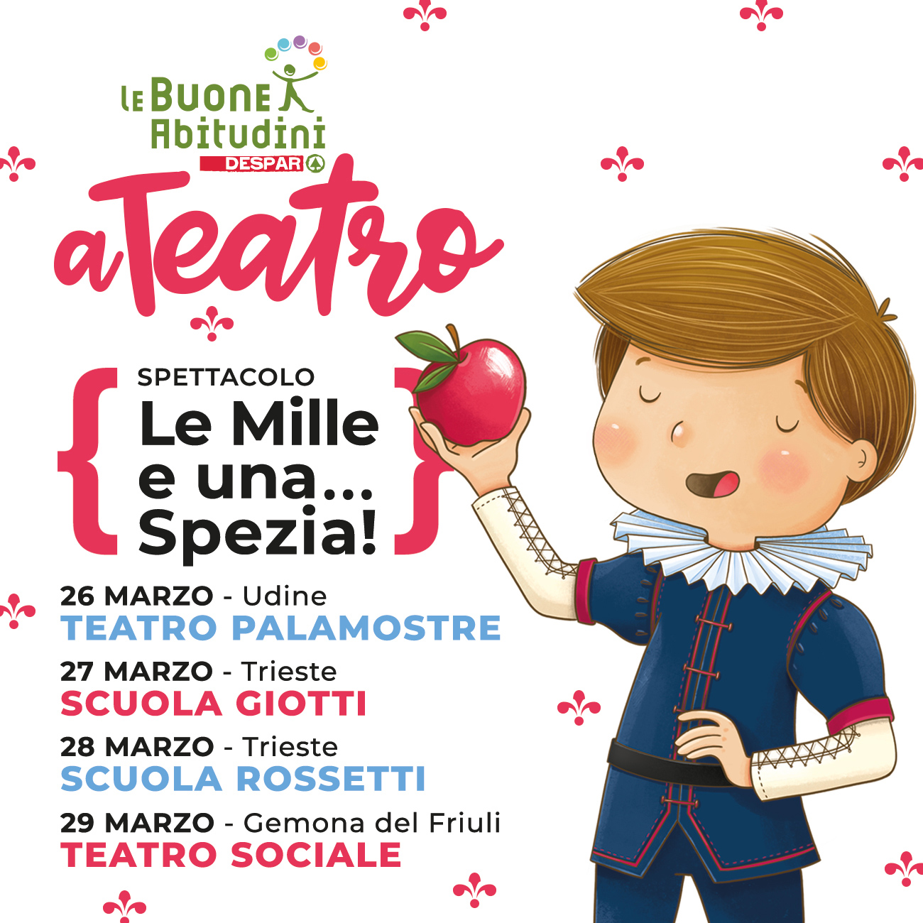 Le Buone Abitudini a Teatro: parte il Tour in Friuli-Venezia Giulia!
