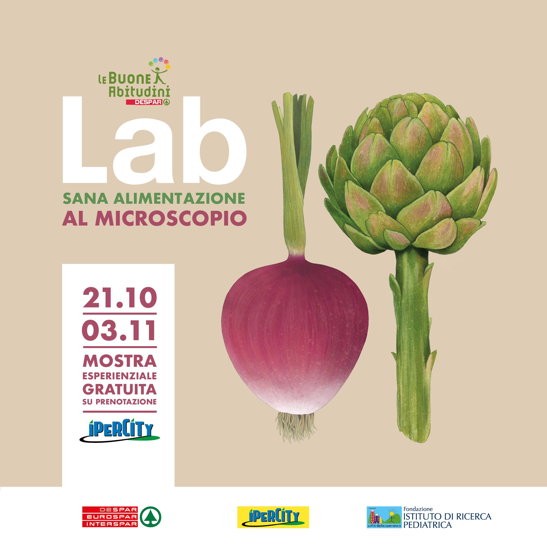 A Padova arriva la mostra esperienziale gratuita LAB – Sana Alimentazione al Microscopio!