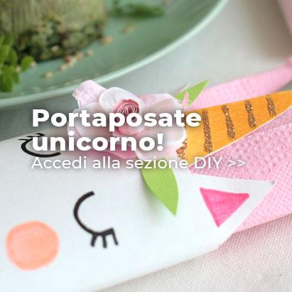 Crea i tuoi portaposate unicorno!