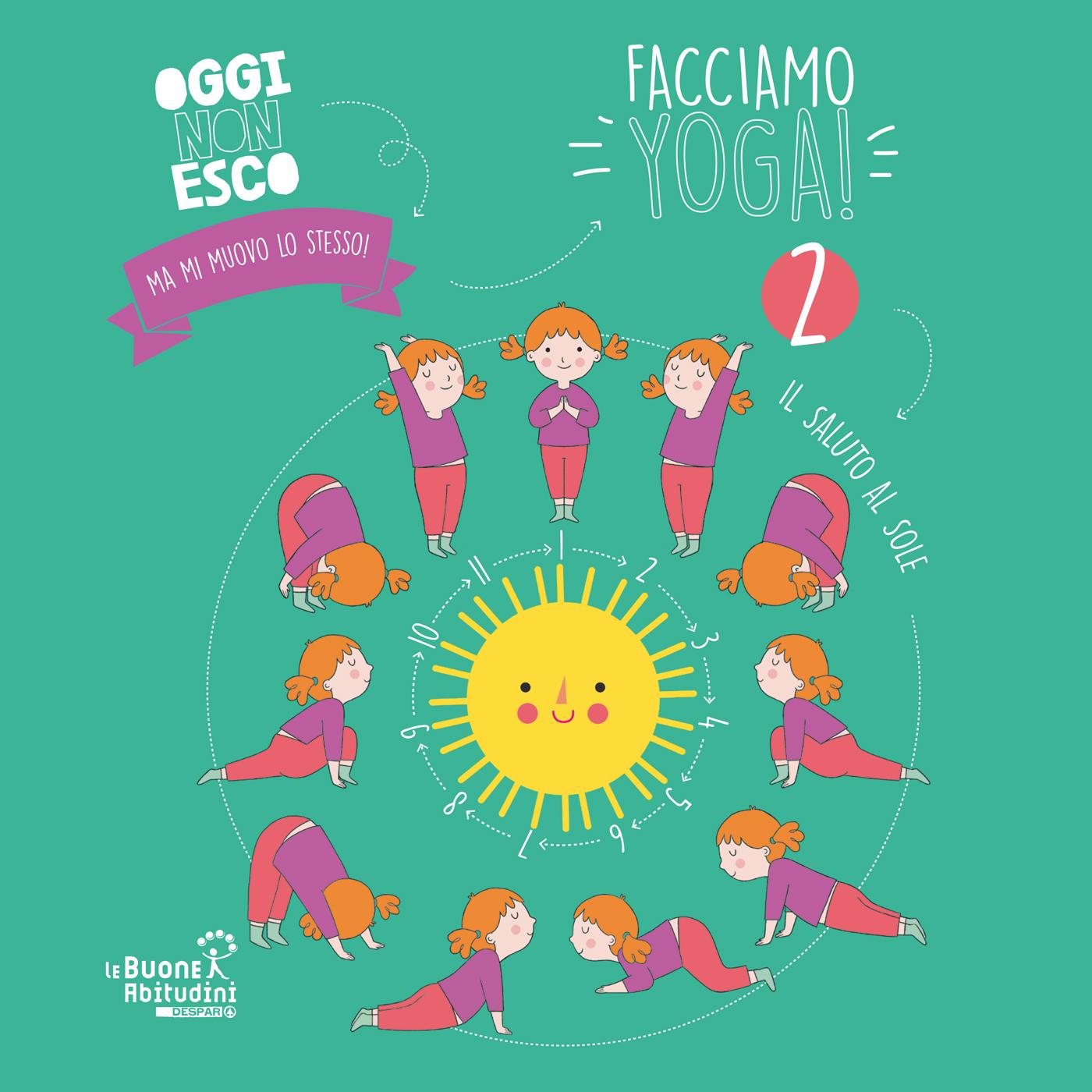 Facciamo Yoga insieme ai bambini: Saluto al Sole