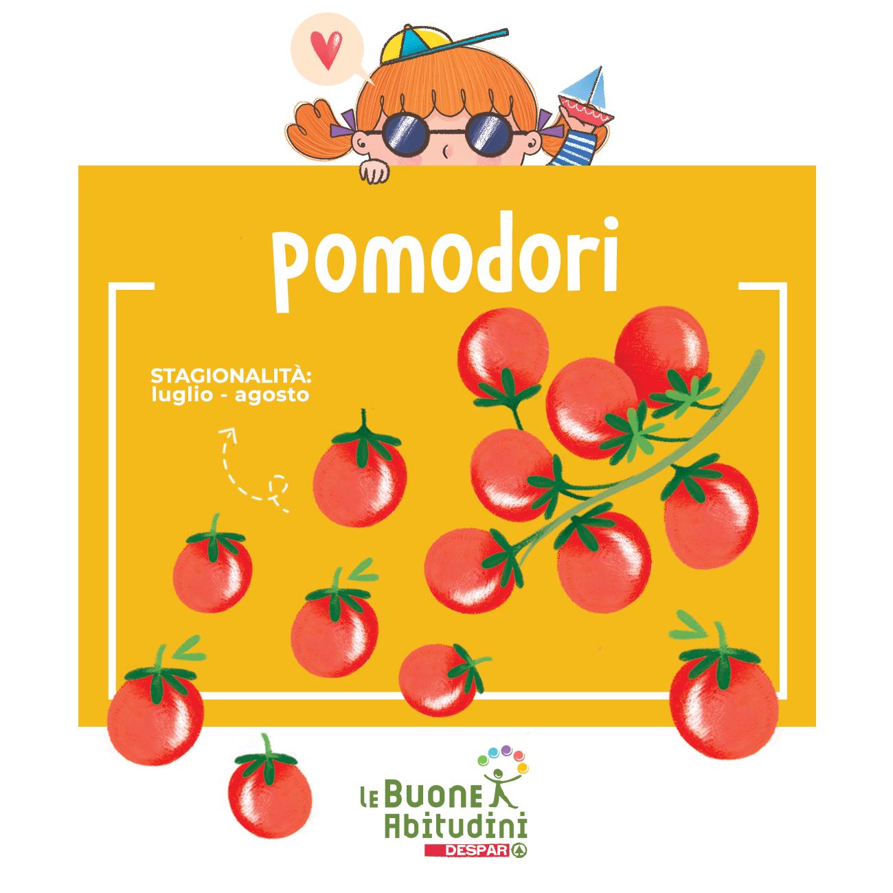 Pomodori: un carico di antiossidanti!
