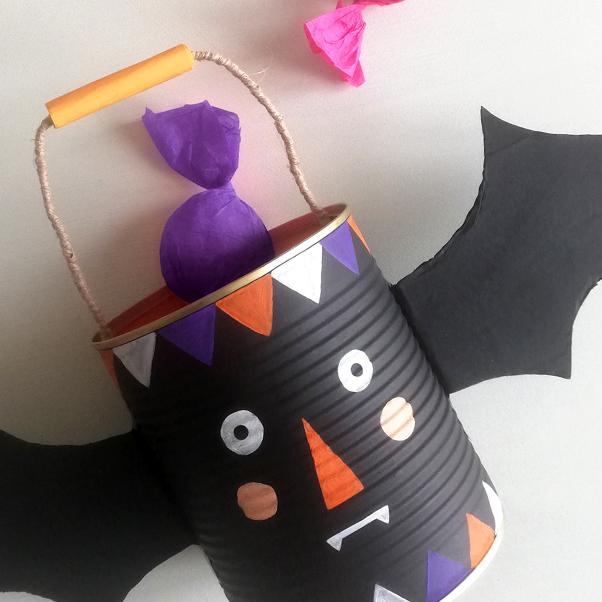 Cestino di Halloween!