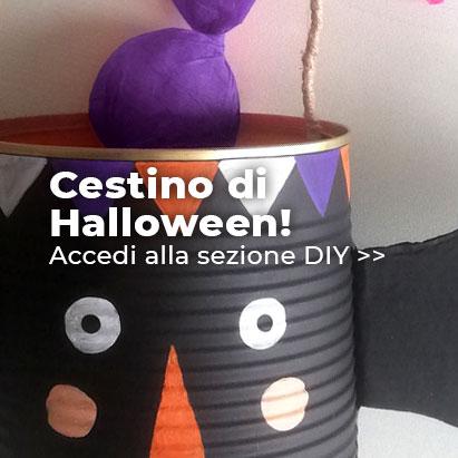 Cestino di Halloween